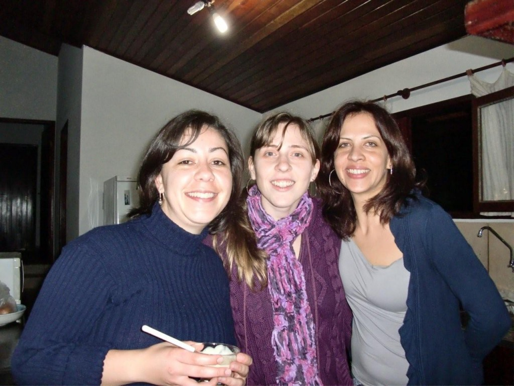 Flavia, Carolina e Juliana